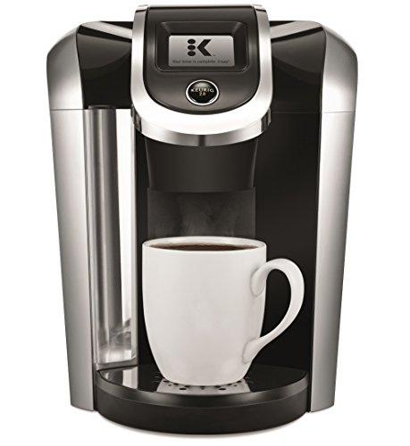 Keurig K475 Coffee Maker, Single Serve K-Cup Pod Coffee Brewer, Programmable Brewer, Black 1
