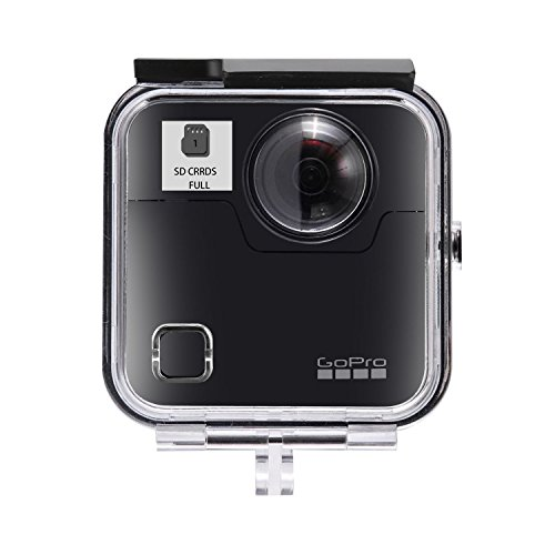 Waterproof Housing Case for Gopro Fusion Action Camera, Underwater Diving Protective Shell 45M with Bracket Accessories