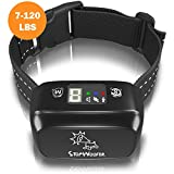 STOPWOOFER Humane Dog Bark Collar - Anti-Barking Collar for Small Medium and Large Dogs - Rechargeable Anti bark Collar - No bark Collars Sound Warning and Vibration- Dog Collar Anti Barking Device