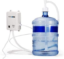 VEVOR-Bottled-Water-Dispensing-System-20-ft-Water-Dispensing-Pump-System-with-US-Plug-115V-AC-Perfect-for-5-Gallon-Bottle-Single-Inlet