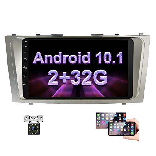 Android-Car-Stereo-for-Toyota-Camry-2G-32G-Double-Din-Radio-9-Touch-Screen-Head-Unit-in-Dash-Auto-Radio-with-GPS-Navigation-Bluetooth-USB-FM-WiFiSWC-Mirror-Link-Rear-View-Camera