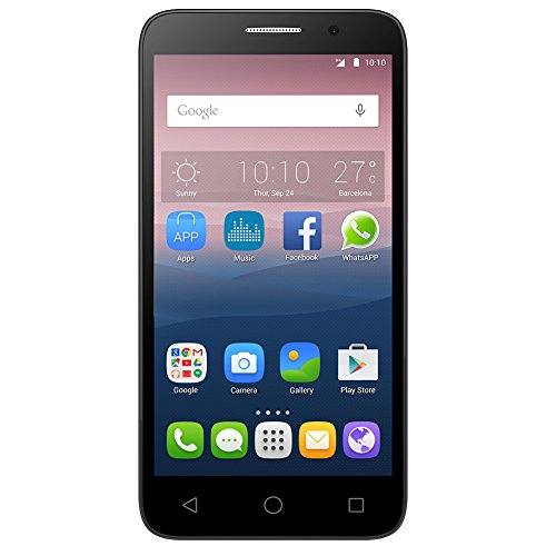 ALCATEL OneTouch Pop 3 Global Unlocked 4G LTE Smartphone, 5.0 HD Display, 8GB (GSM - US Warranty)