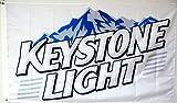 Mountfly Keystone Light Beer Flag Banner 3x5Feet Man Cave Decor