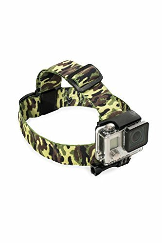 Head Strap Mount for GoPro (Camouflage)