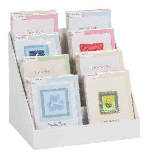 Greeting card display stand cardjdi 12 cardboard greeting card display stand co uk kitchen home m4hsunfo
