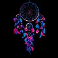 "Caught Dreams Dream Catcher Traditional Indian Wall Art | Delicate Design | Vibrant Colors | Ideal Dimensions 8.5"" x 24"" 