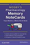 Mosby's Pharmacology Memory NoteCards: Visual,...