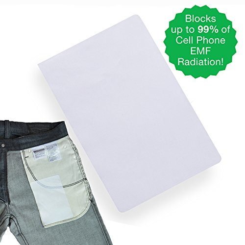 SYB EMF Pocket Patch, Cell Phone Radiation Protection Shield, 3-Pack