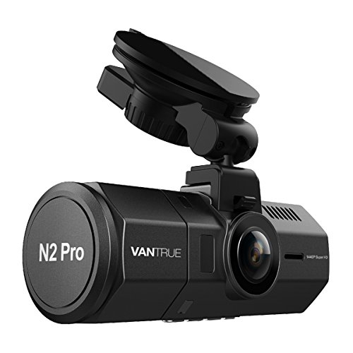Vantrue N2 Pro Uber Dual Dash Cam Dual 1920x1080P Front and Inside Dash Cam (2.5K 2560x1440P Single Front) 1.5' 310° Car Camera w/Infrared Night Vision, Sony Sensor, Parking Mode, Motion Detection