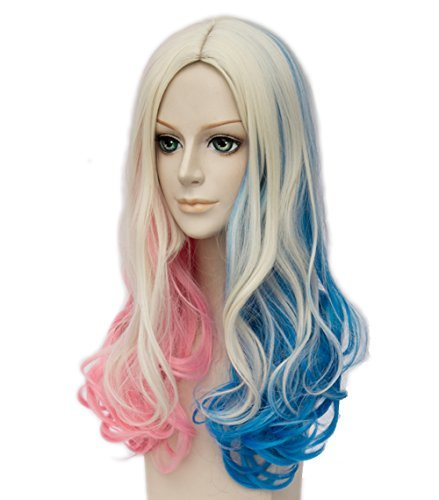 Topcosplay-Womens-Wig-Curly-Halloween-Costume-Cosplay-Wig-Blonde-Mixed-Blue-Pink-Gradient
