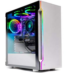 Skytech Archangel Gaming Computer PC Desktop - Ryzen 5 3600 3.6GHz, GTX 1660 6G, 500GB SSD, 8GB DDR4 3000MHz, RGB Fans, Windows 10 Home 64-bit, 802.11AC Wi-Fi