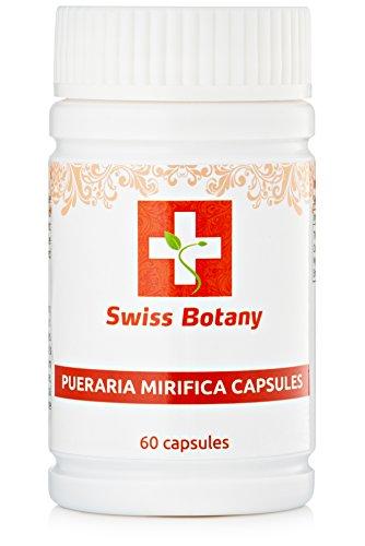 Pueraria Mirifica Capsules Natural Breast Enlargement & Firmness Pills - Swiss Botany   ** 60 Capsules **