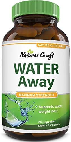 Natural Water Pills - Reduce Excess Water - Weight Loss Appetite Suppressant Benefits - Vitamin B6 Pyridoxine Hydrochloride - Dandelion Root + Pure Green Tea Diuretic for Women & Men 4