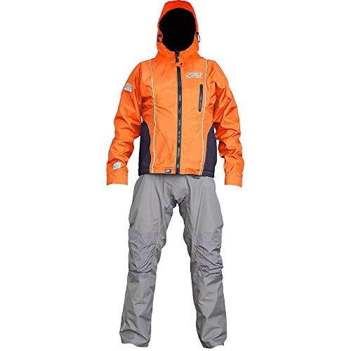 Ocean Rodeo Soul Breathable Drysuit, Large, Orange/Grey