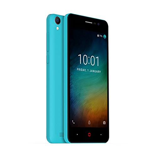 Doopro P3 5.0Inch 4200mAh Mobile Phone MTK6580 Quad Core Android 6.0 cell phone 1GB RAM 8GB ROM 5MP GPS Wifi 3G WCDMA Smartphone (Blue)