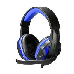 4189VSEjZ2L - Docooler SOYTO SY711MV 3.5mm LED Earphone Gaming Headset Gamer PC Headphone Headband Stereo Game Earphone with Microphone for Computer