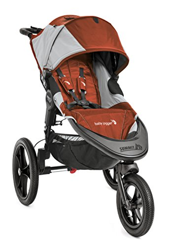 Baby Jogger 2016 Summit X3 Single Jogging Stroller - Orange/Gray