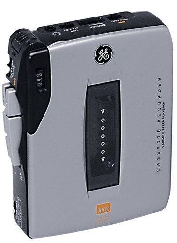 GE 35369 Mini Cassette Recorder Value Pack