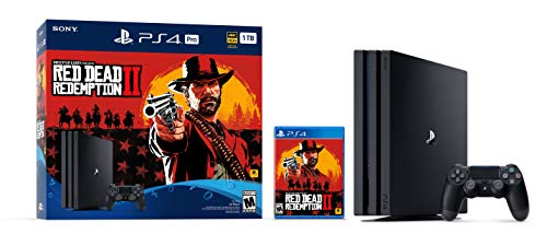 PlayStation 4 Pro 1TB Console -  Red Dead Redemption 2 Bundle