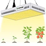 YGROW 600W LED Grow Light Full Spectrum,Update Light Plant Bulbs Growing Light Bulb for Indoor...