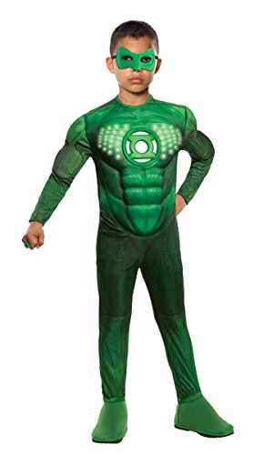 Green Lantern Child's Deluxe Hal Jordan Costume With L