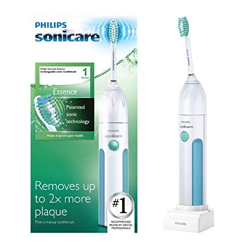 Philips Sonicare Essence Sonic Rechargeable Toothbrush,...