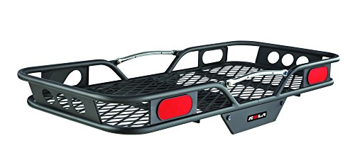Rola 59502 Vortex Steel Cargo Carrier, Hitch-Mount, High-Capacity Basket (2-Inch Receivers)