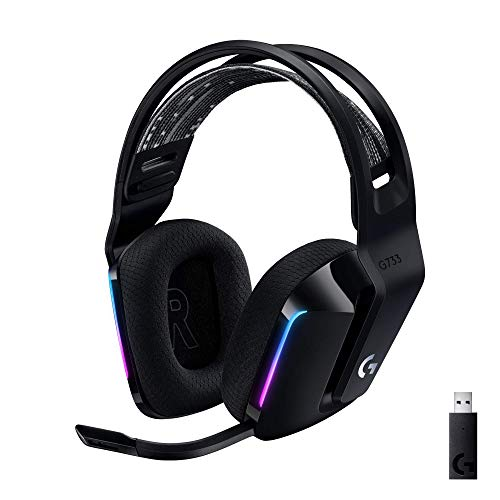 Logitech-G733-Lightspeed-Wireless-Gaming-Headset-with-Suspension-Headband-LIGHTSYNC-RGB-Blue-VOCE-mic-Technology-and-PRO-G-Audio-Drivers-Black