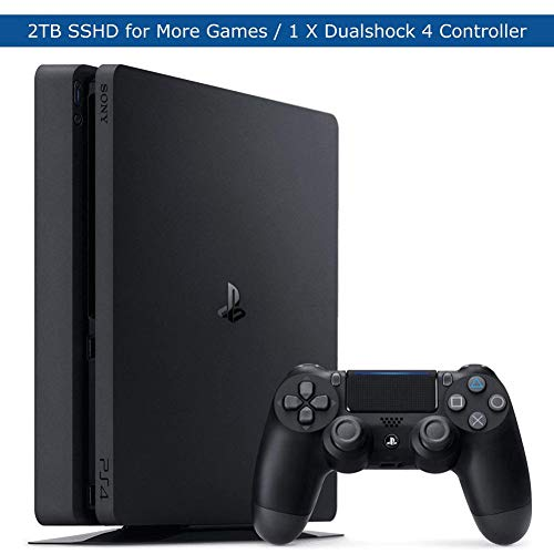 Sony-Playstation-4-Slim-Upgraded-2TB-SSHD-Video-Game-Console-with-DualShock-4-Wireless-Jet-Black-Controller-for-PS4
