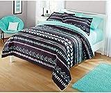Your Zone Tribal Bedding Comforter Set - FULL/QUEEN
