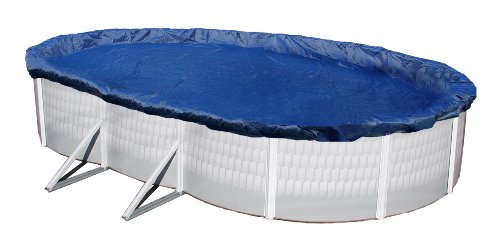 Blue Wave Gold 15-Year 15-ft x 30-ft Oval Above Ground Pool Winter Cover
