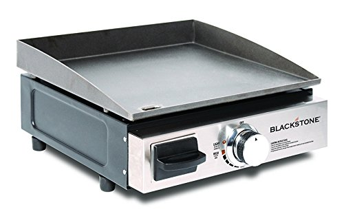 Blackstone Table Top Grill - 17 Inch Portable Gas Griddle - Propane Fueled...
