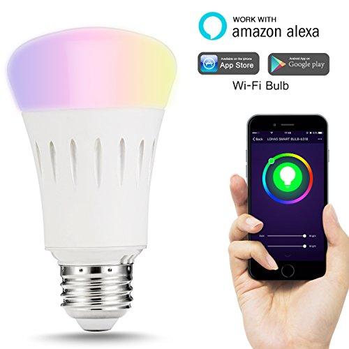 LOHAS Smart LED Bulb, Wi-Fi Light, Multicolored LED Bulbs, LED ...