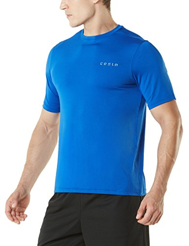 TSLA Men & Women's HyperDri Short Sleeve T-Shirt Athletic Cool Running Top MTS Series 1 Fashion Online Shop Gifts for her Gifts for him womens full figure