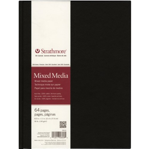 Strathmore Mixed Media Art Journal, 8.5 by 11-Inch, 64 Pages