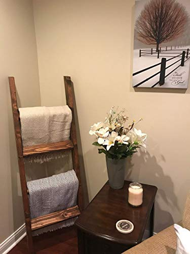 Farmhouse Blanket Ladder - 3, 4 and 5 Foot Quilt Ladder