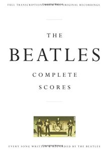 The Beatles Complete Scores cover