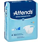 ATTENDS Undergarment Attends Belted Disposable Moderate Absorbency (#BU0600, Sold Per Case)