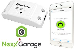 NEXX Garage NXG-100 NXG Remote Compatible Door Openers - Control Using Smart Phone, Amazon Alexa and Google Assistant Enabled Devices, White