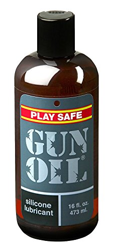 Gun Oil Silicone Based Personal Lubricant (Slick...