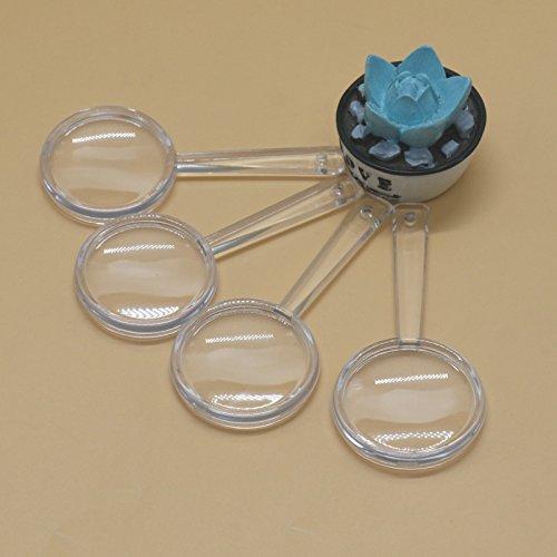 MAISHO Mini Plastic Magnifying Glasses for Kids, Pack of 20
