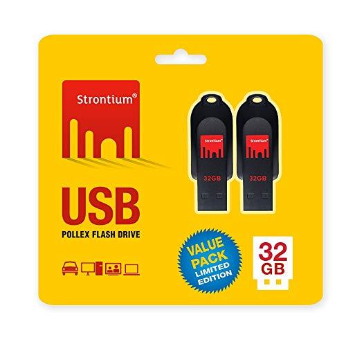 Strontium 32GB USB Pollex-Pack of 2 236