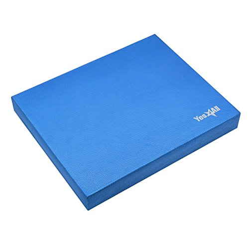 Yes4All Balance Pad Large – Exercise Foam Cushion (Blue)
