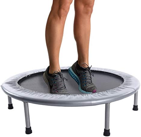 Stamina 36-Inch Folding Trampoline | Quiet and Safe Bounce | Access To Free Online Workouts Included | Supports Up To 250 Pounds 3