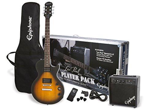 Epiphone PPEG-EGL1VSCH1 Les Paul Electric Guitar Player Package, Vintage Sunburst