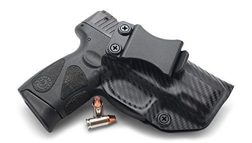 Concealment Express IWB KYDEX Holster: fits Taurus 111/140 Millennium G2 &  G2C (CF BLK, RH) - Inside Waistband Concealed Carry - Adj  Cant/Retention -