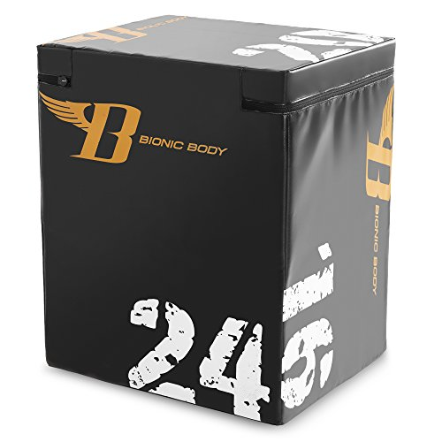 Bionic Body Plyo Exercise Box Plyometric Box with Soft Cover BBPB-1106