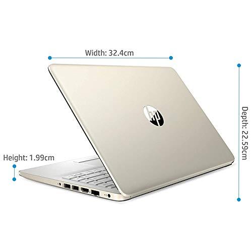"HP 14 10th Gen Intel Core i3 Processor 14"" (35.56cms) FHD Laptop computer (4GB/1TB HDD/Home windows 10 House/MS Workplace/Pure Silver/1.47Kg), 14s-cf3006tu"