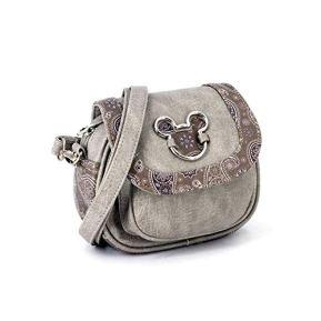 KARACTERMANIA-Mickey-Mouse-Paisgrey-bolso-Sugar-Sac-bandouliere-18-cm-Gris-Paisgrey