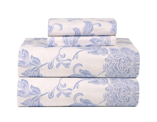 Celeste Home Ultra Soft Flannel Sheet Set with Pillowcase